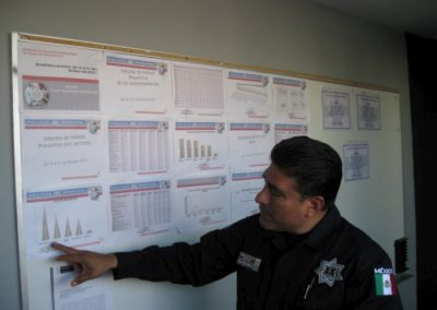 VISITA DE OBSERVACION DEL GRUPO DE GENTE DIVERSA 029-700
