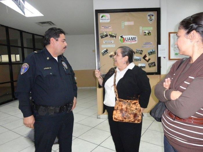Visitas a Estaciones de Policías